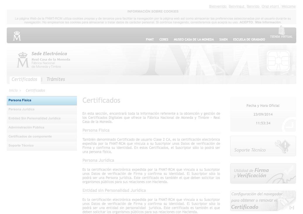 Certificado digital - paso 2 para completarlo