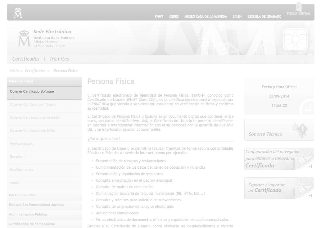 Certificado digital - paso 3 para completarlo