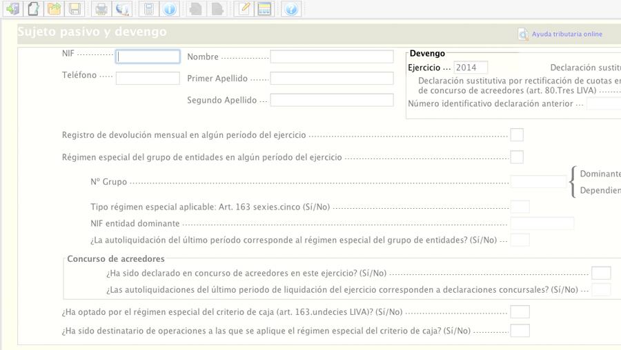 Presentar Resumen Anual de IVA 390