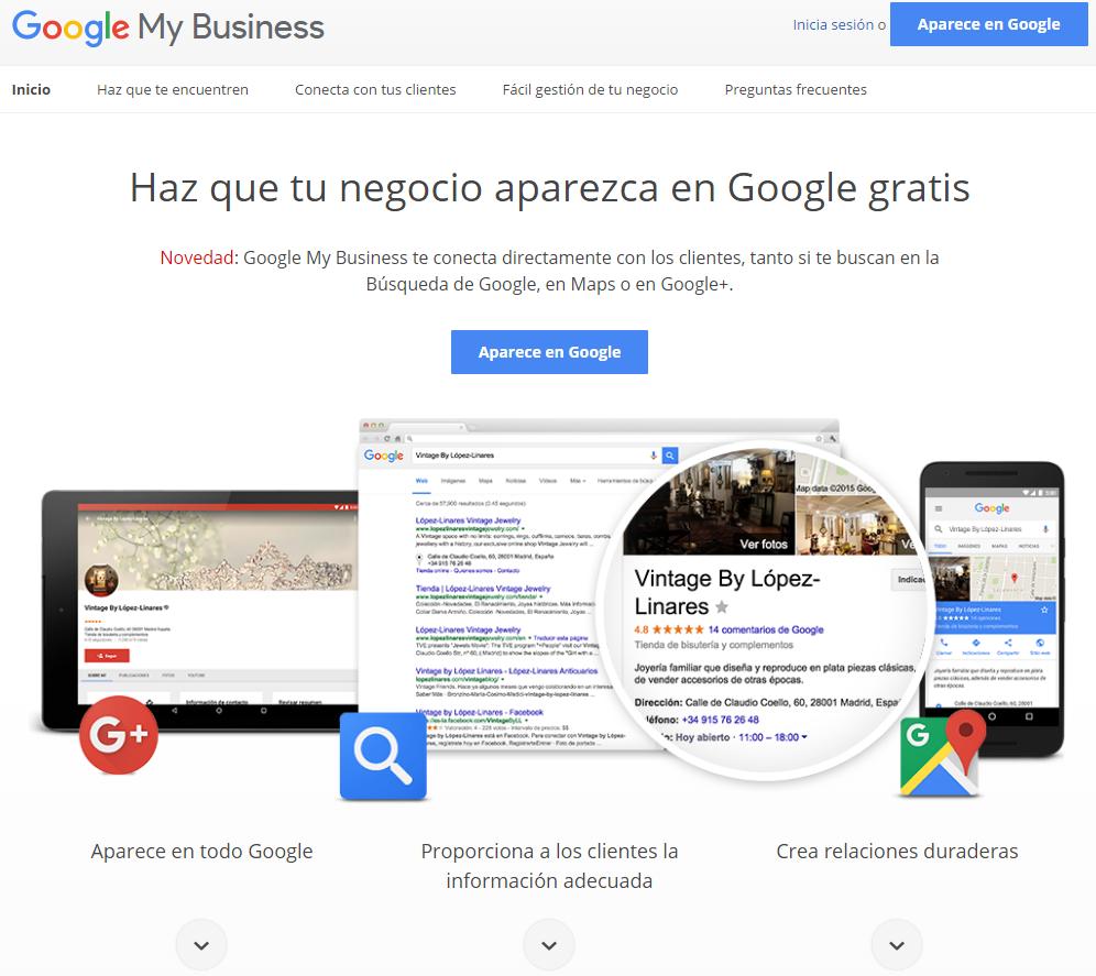Registrarse En Google Negocios Y Ventajas De Aparecer En