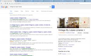 aparecer en resultados búsqueda google