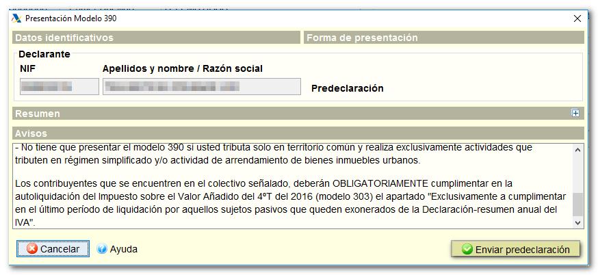 predeclaracion sms-agencia tributaria