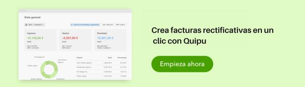 Facturas Rectificativas Quipu