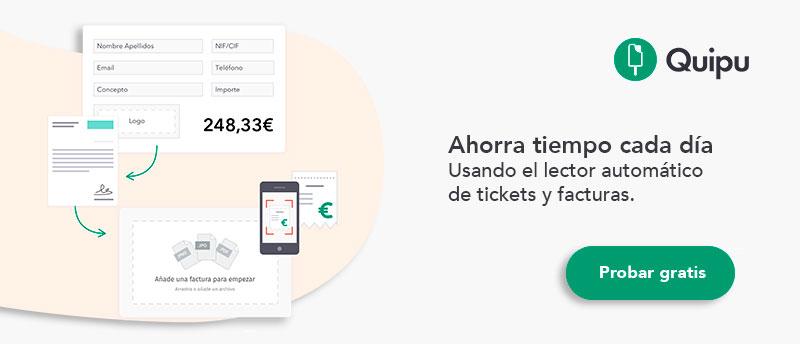 lector automatico de tickets y facturas