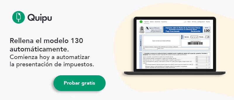 modelo 130 irpf hacienda