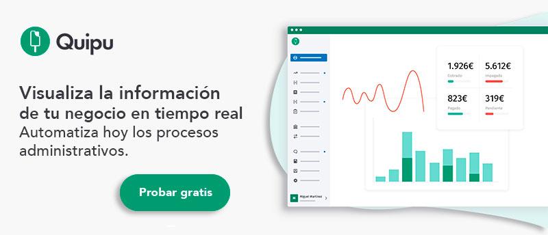 informacion empresa en tiempo real