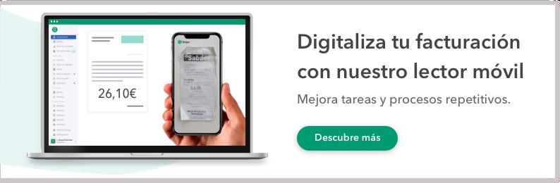 digitaliza tus tickets de gastos lector OCR