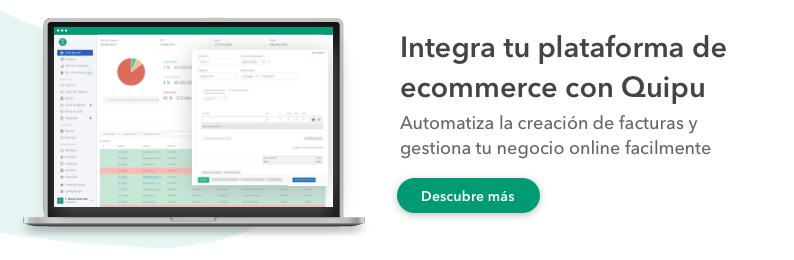 ecommerce integración facturas online