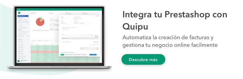 prestashop ecommerce integrar con software facturacion