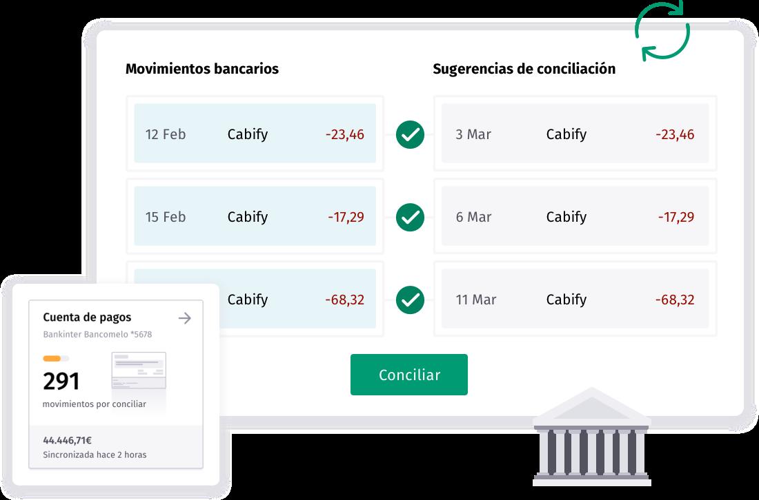 ¡Nuestra nueva herramienta de conciliación bancaria automática!