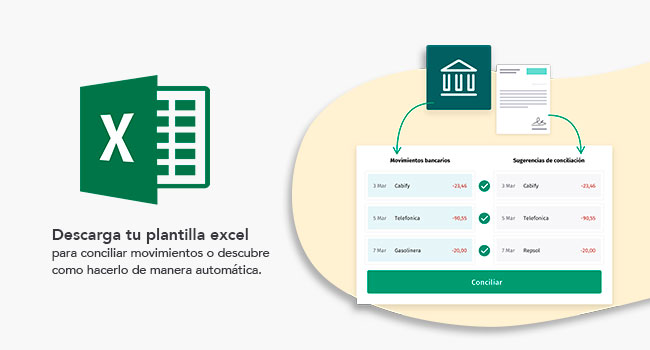 plantilla excel para conciliación bancaria