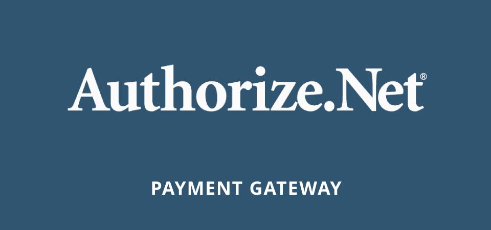 authorize.net ecommerce