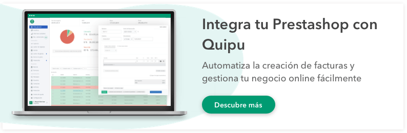 integracion software facturacion Prestashop