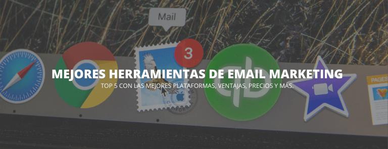 mejores herramientas email marketing