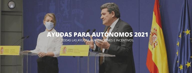 ayudas autonomo 2021
